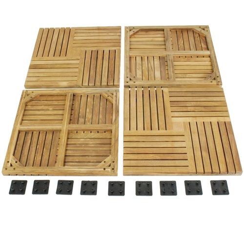 teak deck tiles hardwoods