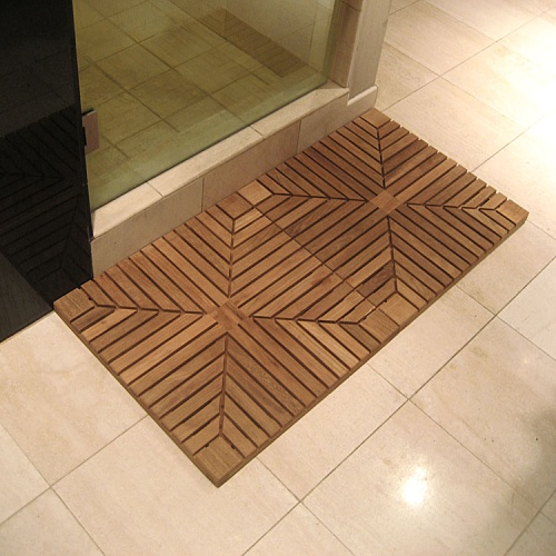 diamond teak deck tiles