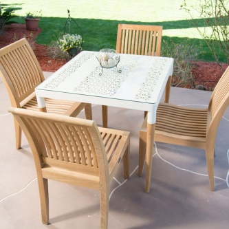 5 pc Bloom Laguna Dining Set