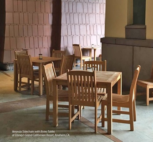 5pc Square Veranda Teak Set - Picture K