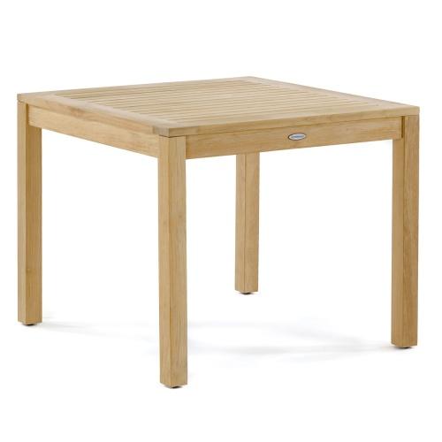 square bistro table