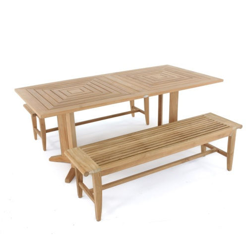 teak wood picnic tables