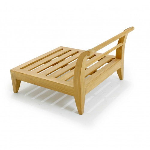 Teak Deep Seating Sectional Daybed - Picture C