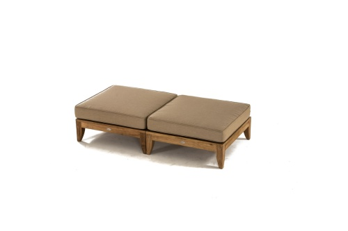 teak outdoors furniture ottomans