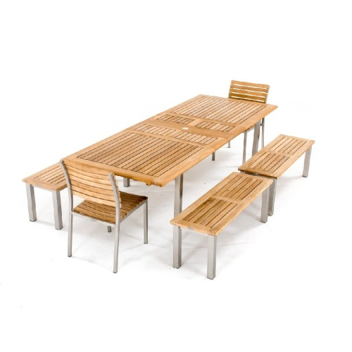 Vogue Teak Picnic Set - Picture L