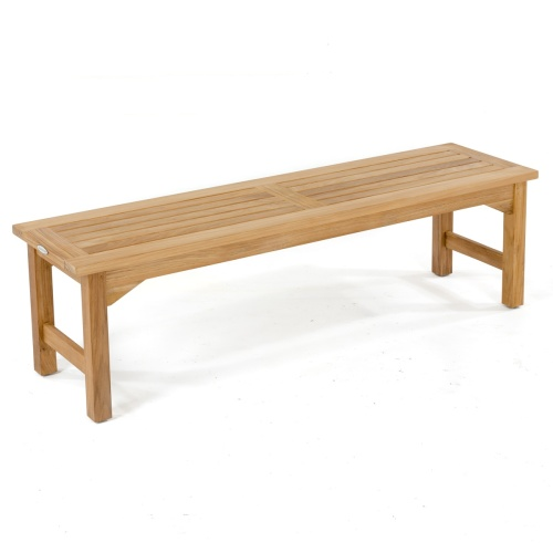 Teak Picnic Bench Set - Picture L