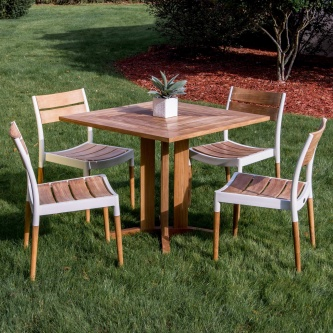 5pc Bloom Pyramid Dining Set