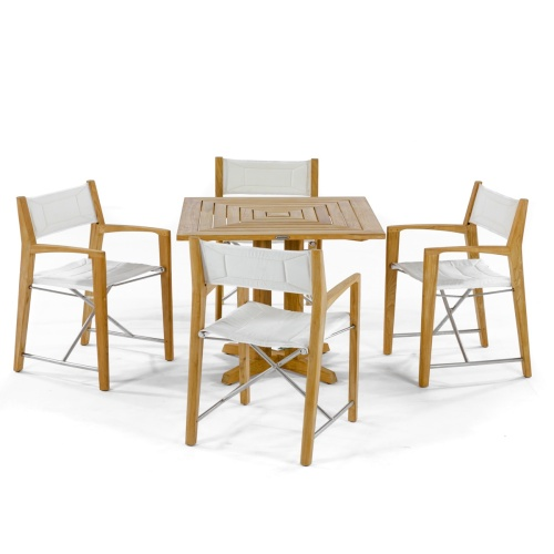 director chair dining set
