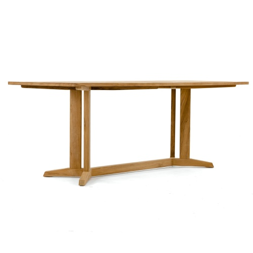 Surf Pyramid Teak Dining Set - Picture K