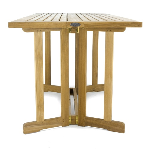 Surf 5pc Teak Folding Set Westminster Teak