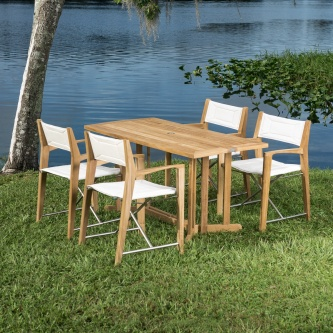 Odyssey Outdoor Folding Dining Set