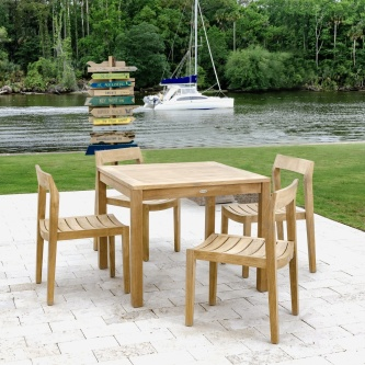 Horizon 5 pc Teak Bistro Set