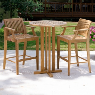 Laguna 3 pc Pub Table and Stool Set