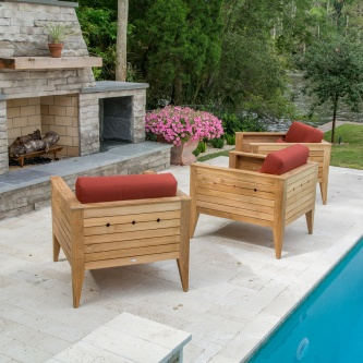 Craftsman 3 pc Lounge Set