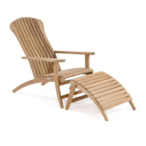 teak lounging furniture