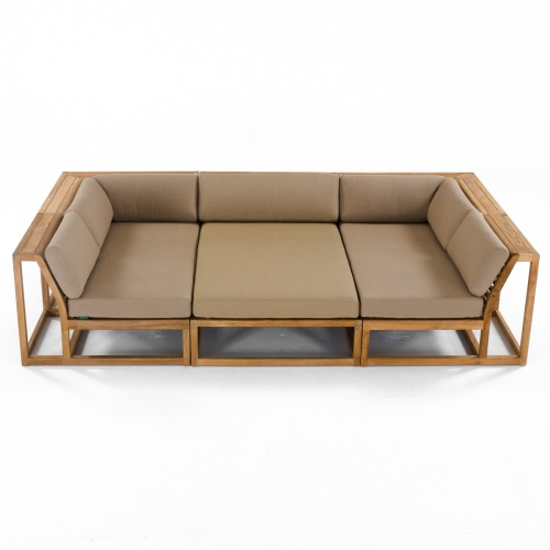 Maya Teak Large Sectional - Picture D