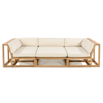 3 pc Maya Teak Daybed Set