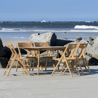 Surf 7 pc Teak Dining Set