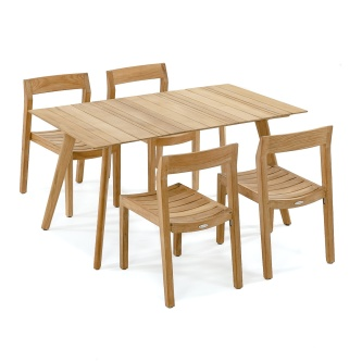 Surf-Horizon 5pc Teak Dining Set