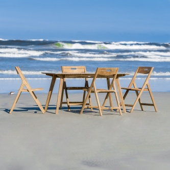 Surf 5 pc Teak Dining Set