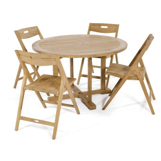 Surf 4 ft Round Dining Set