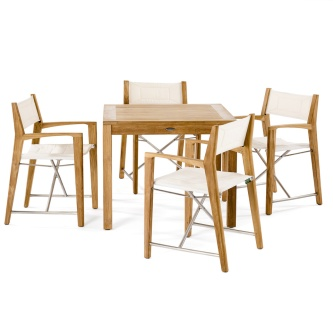 5 pc Odyssey Square Dining Set
