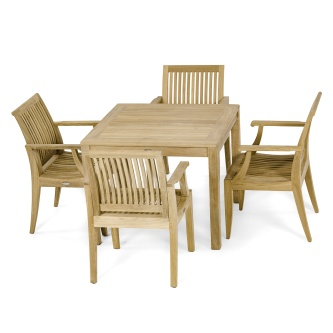 5pc Laguna Square Dining Set