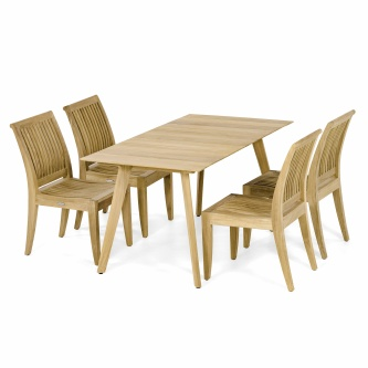 5 pc Surf Laguna Teak Dining Set