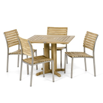 5pc Vogue Pyramid Side Chair Set