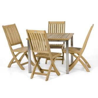 Vogue Barbuda 5 pc Side Chair Set