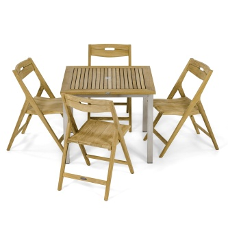 Vogue Surf 5 pc Teak Cafe Set
