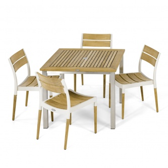 Vogue Bloom 5 pc Teak Dining Set