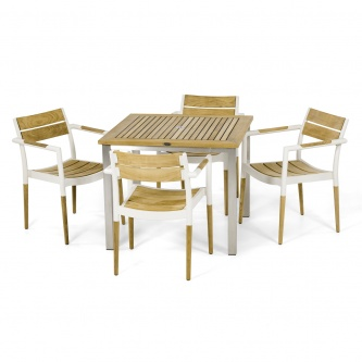Vogue Bloom 5 pc Dining Chair Set