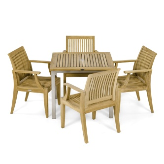 Vogue Laguna 5 pc Dining Chair Set