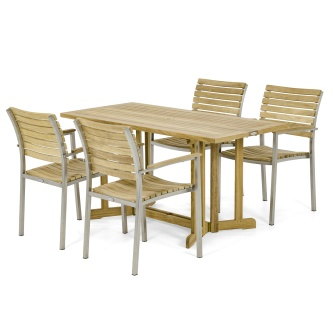 Vogue Nevis Dining Set for 4
