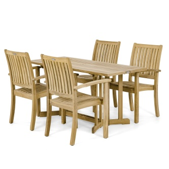 Sussex Nevis 5 pc Dining Set