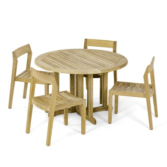 Barbuda Horizon Teak Dining Set
