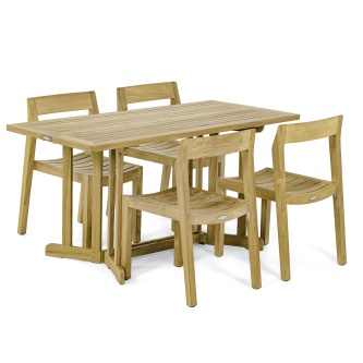 Nevis Horizon Wood Dining Set