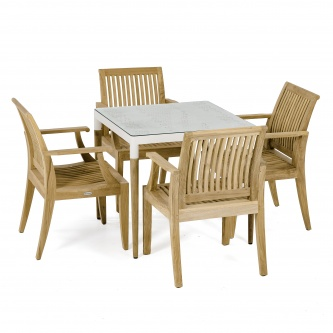 Bloom Laguna Armchair Dining Set