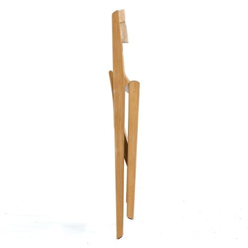 Bloom Square Surf Teak Folding Chair Set - Picture L