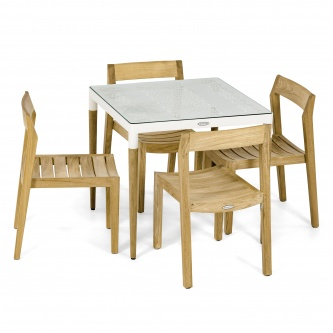 Bloom Horizon Teak Dining Set