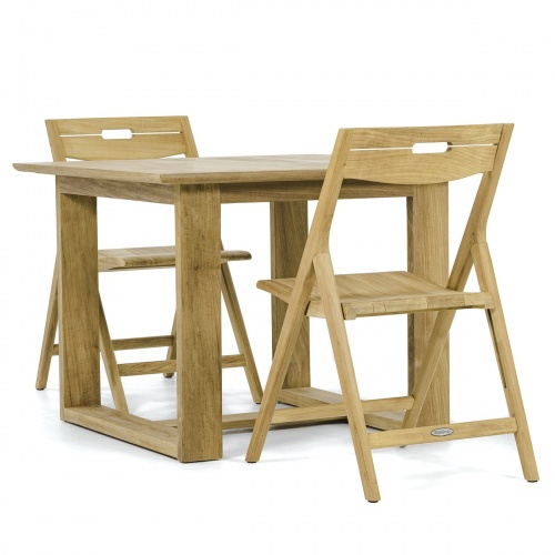 Horizon Surf Teak Folding Set - Picture B