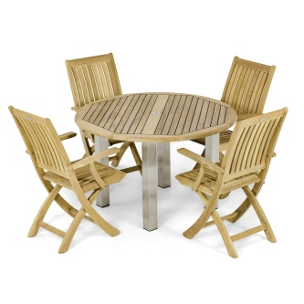 Vogue Barbuda Folding Dining Set