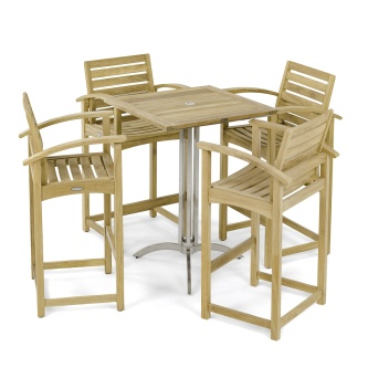 Square Somerset Dining Barstool Set