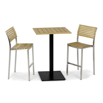 Vogue Barstool 3pc Bar Set
