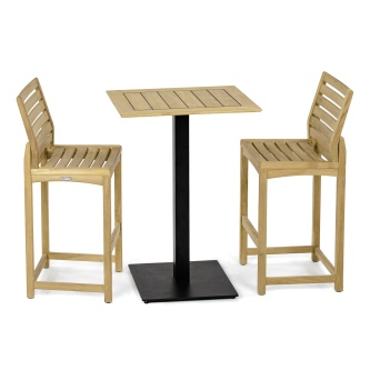 Somerset Barstool 3pc Side Bar Set