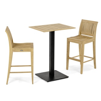 Laguna Barstool 3pc Side Bar Set