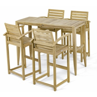 Somerset Laguna Teak Bar Set