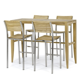 Laguna Vogue Teak Bar Set