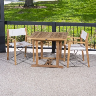 3pc Odyssey Square Dinette Set